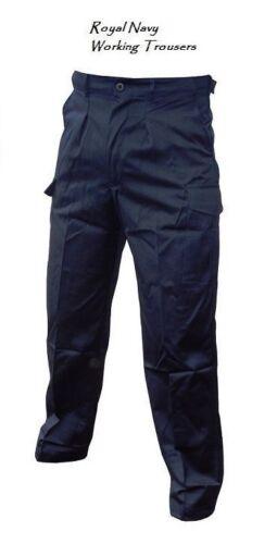 Pantaloni Cargo Vintage Condizioni. indossato da Royal Navy marinai Lavoro Pantaloni