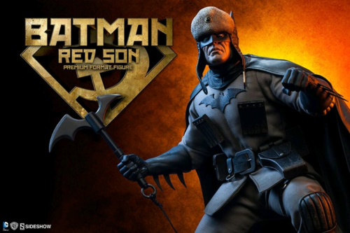 DC Sideshow Collectibles Batman rosso Son Premium Format 1 4 Scale Statue