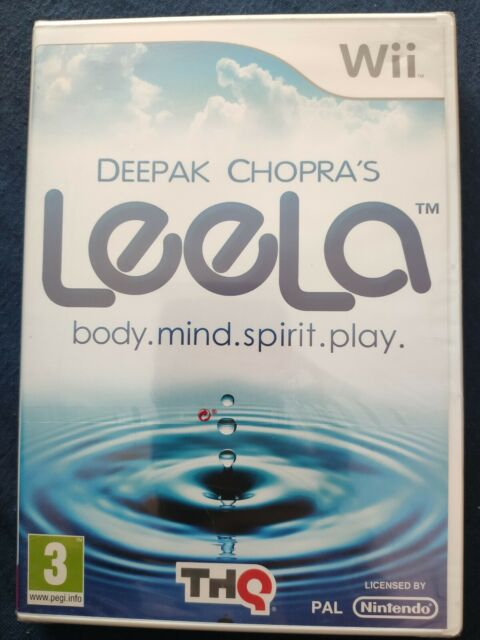 DEEPAK CHOPRA'S LEELA pour Nintendo Wii/Wii U NEUF Blister