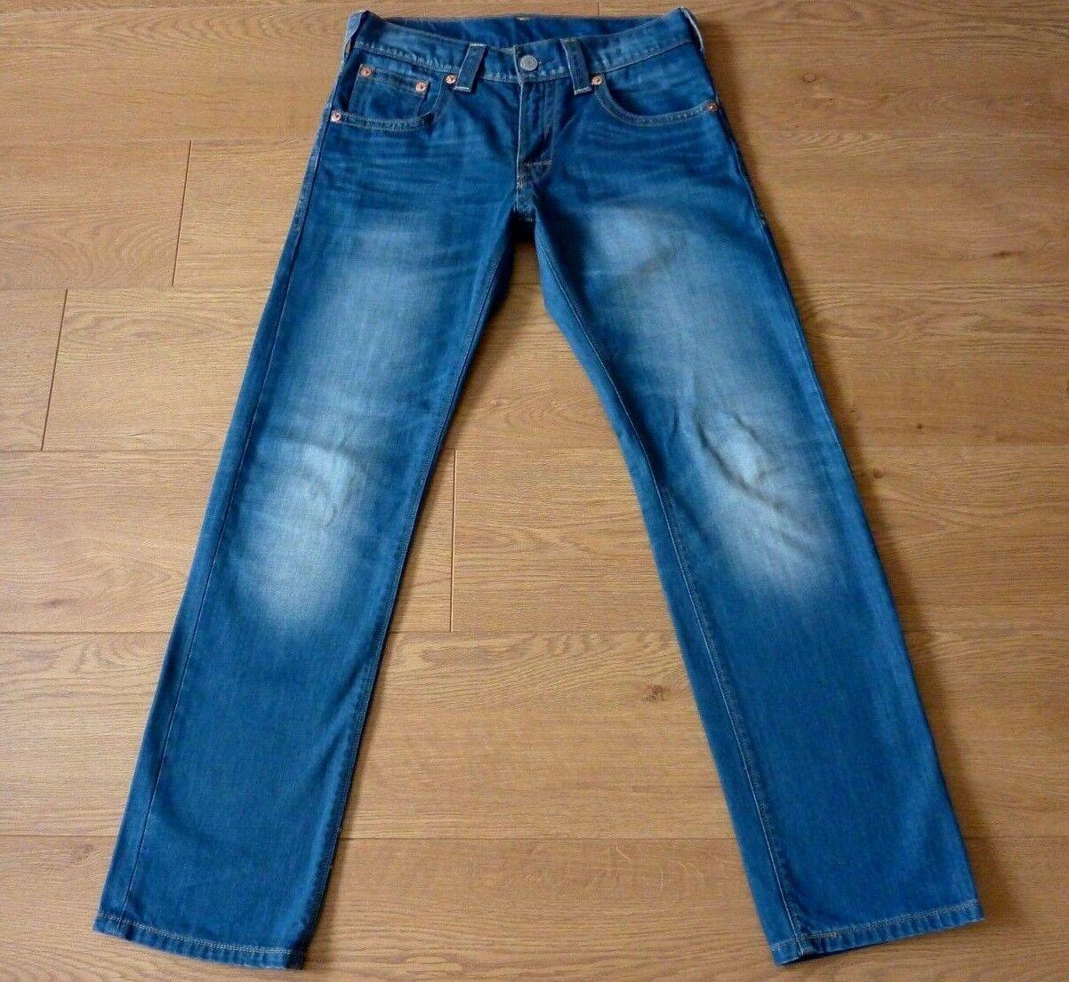 Levi/'s Homme 501 Original-Fit Jean Bleu Clair W30 L34//W32 L36//W29 L32