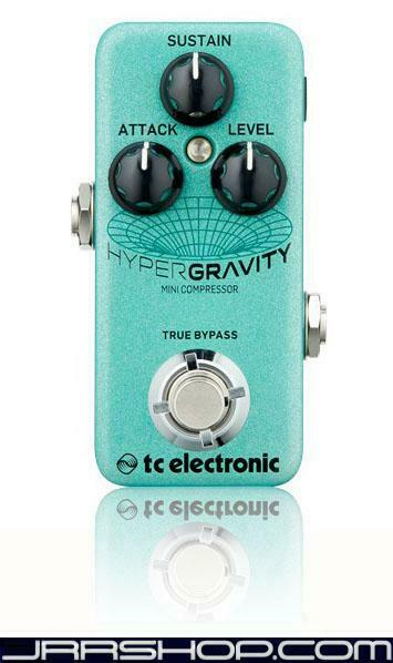 TC Electronic HyperGravity Mini Compressor Pedal New JRR Shop
