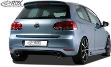 "Volkswagen Golf MK6 - Rear bumper spoiler ""GTI look"""