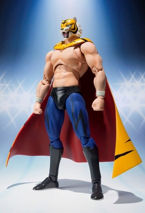TIGER MASK - L'UOMO TIGRE - S.H.FIGUARTS FIGHTING BODY - BANDAI