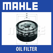 MAHLE Motorbike Oil Filter OC306 for BMW Motorcycles - Single