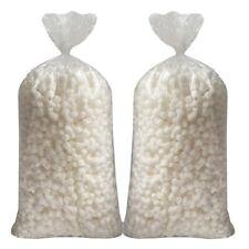 White Bone Shaped Packing Peanuts 3 Cu Ft 2 Pack
