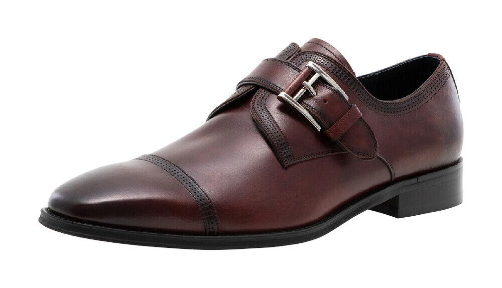 Jump Newyork Mcneil Leather Upper Single Monk Strap Formal/Dress Shoes for Men