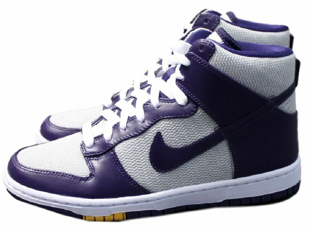 Damenschuhe Nike Dunk High Skinny Premium Sneaker Neu Gr:43 Gr:43 Neu Vandal 386316-001 Purple 174254