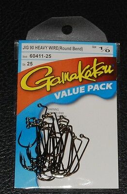 Gamakatsu 604  #1    25 in a Pack