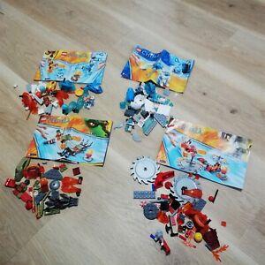 LEGO-Chima-X4-SET-PACKS-BULK-LOT-70156-70151-70149-70150-Excellent