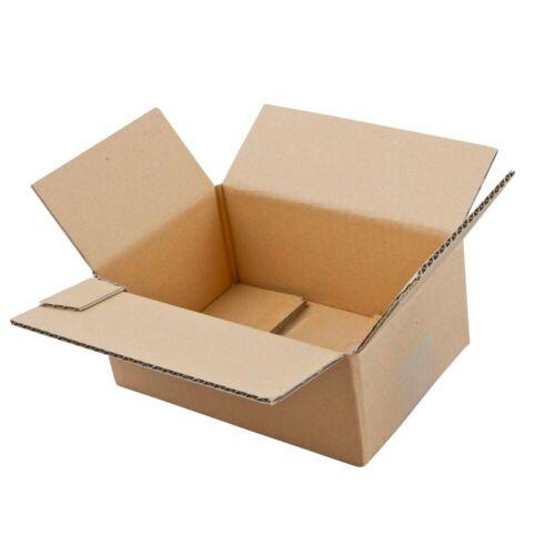 20 Karton Box Wellpapp-Faltkartons 1-wellig 27,0 x 18,0 x 18,7 cm