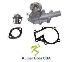 New Kubota B21 B2410hsd B2410hsdb B2410hse B2710hsd Water Pump With Thermostat