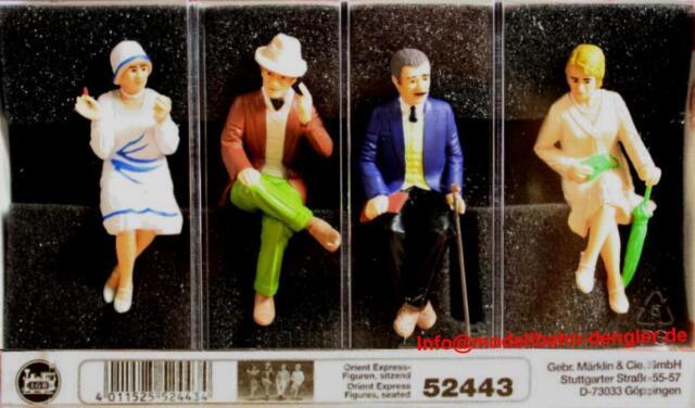 LGB 52445 Speisewagen-Figuren sitzend  Neuware