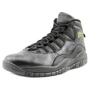 3aaff797df59d0 Nike Air Jordan Retro X 10 NYC Size 11 NYC Black Gold 310805 012 for ...