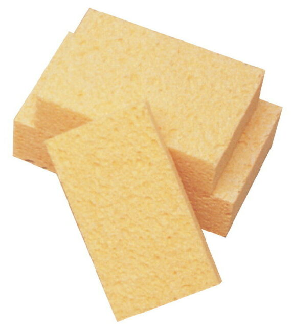 7 in L High Quality Polyester All Purpose Sponge 4-1//2 in W 2-1//4 in Thick