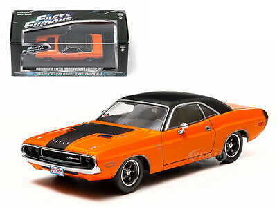 2 FAST 2 FURIOUS (2003) DARDEN'S 1970 DODGE CHALLENGER R/T 1/43 GREENLIGHT 86207