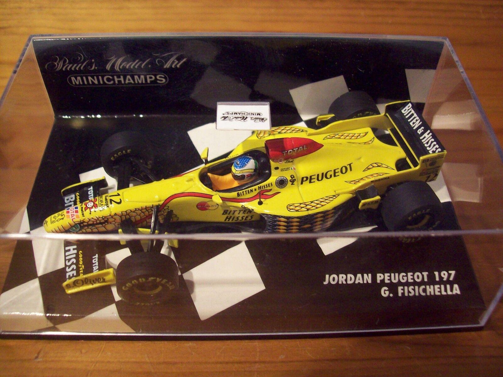 1 43 JORDAN 197 PEUGEOT 1997 Giancarlo Fisichella
