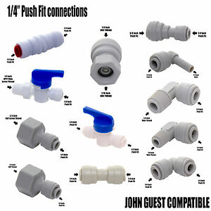 Vyair 1 4 Push Fit Tube Connections Compatible With John Guest