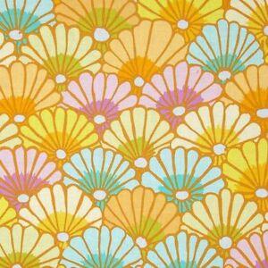 Kaffe-Fassett-Thousand-Flowers-Fabric-PWGP144-Yellow-Fall-2014-Collection-BTY