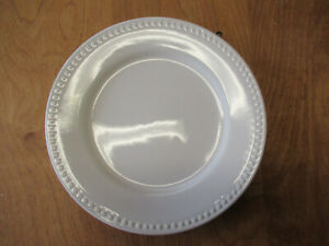 JCP-JCPenney-Home-All-White-Dinner-Plate-10-034-Rim-Embossed-Dots-3-available