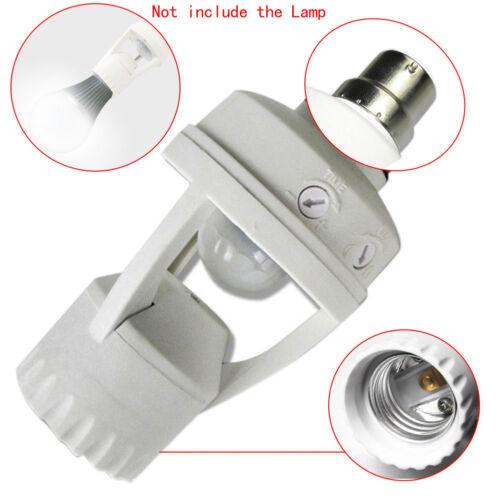 Screw Light Bulb Holder LED PIR Infrared Motion Sensor Lamp Switch Socket Newest