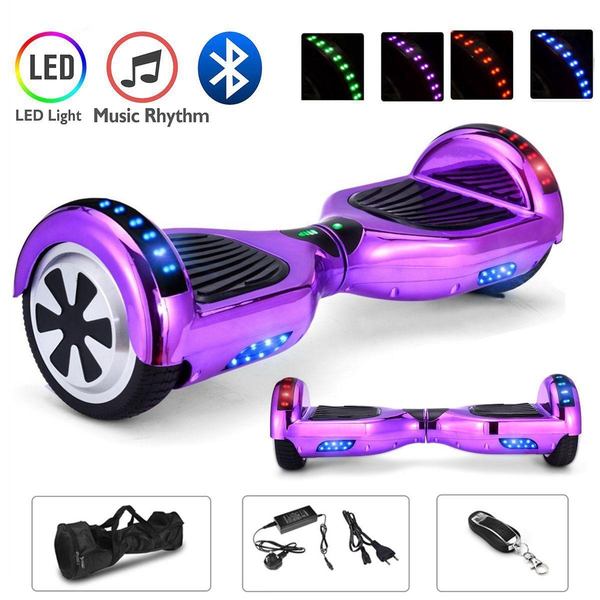 6.5/8/10 pouces Smart Skate Skateboard électrique Self Balance électrique Skateboard Scooter 2 roues 194e2b