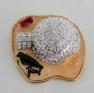2002-ESTEE-LAUDER-Jeweled-Compact-Frosted-Igloo-Pleasures-Solid-Perfume-Rare