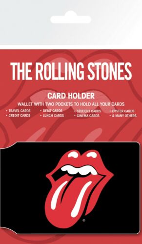 The Rolling Stones Only Rock and Roll Card Holder Travel Holder ID Card Holder
