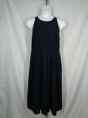 NWT Ann Taylor Sleeveless Eyelet Swirl Midi Dress  $159.00 NEW  Coral