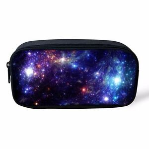 Image Is Loading Space Galaxy Kids Pencil Case Holder Pen Storage