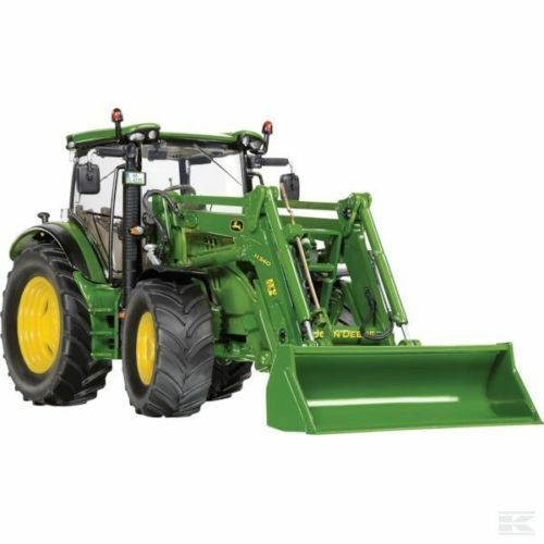 Wiking John Deere 6125R Precision tractor model with loader BOXED 1 32 NEW