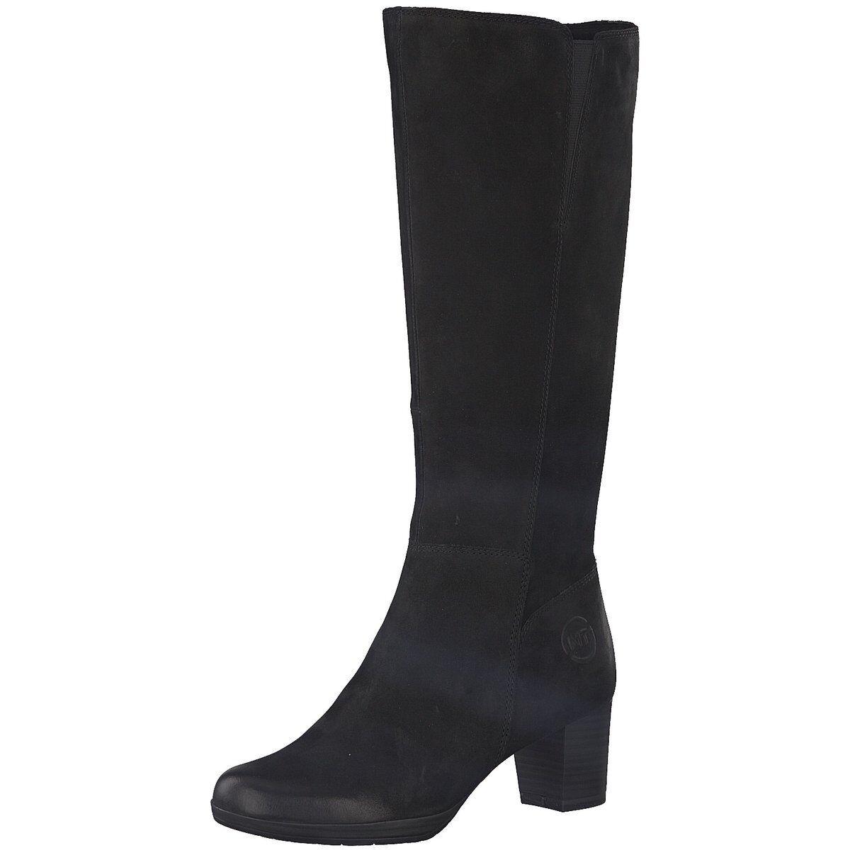 NEU Marco Tozzi Damen Stiefel Woms Stiefel schwarz 2-2-25526-21/002 002 schwarz Stiefel 522940 6612fa