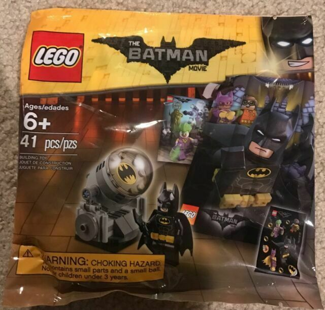 New The LEGO Batman Movie Bat Signal 41 Piece Set #5004930 Polybag #6181503