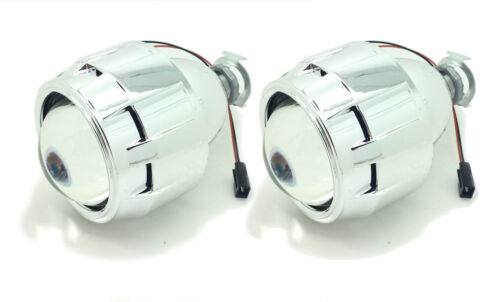 2 x Bi-Xenon HID Mini Retrofit Projectors Lens H1 H7 H4 Shroud For Mercedes 2018