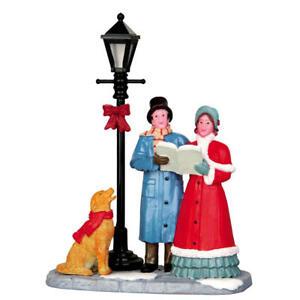 Lemax 2014 Singing Carols Caddington Village 42256 Victorian-Era Dog Street Lamp