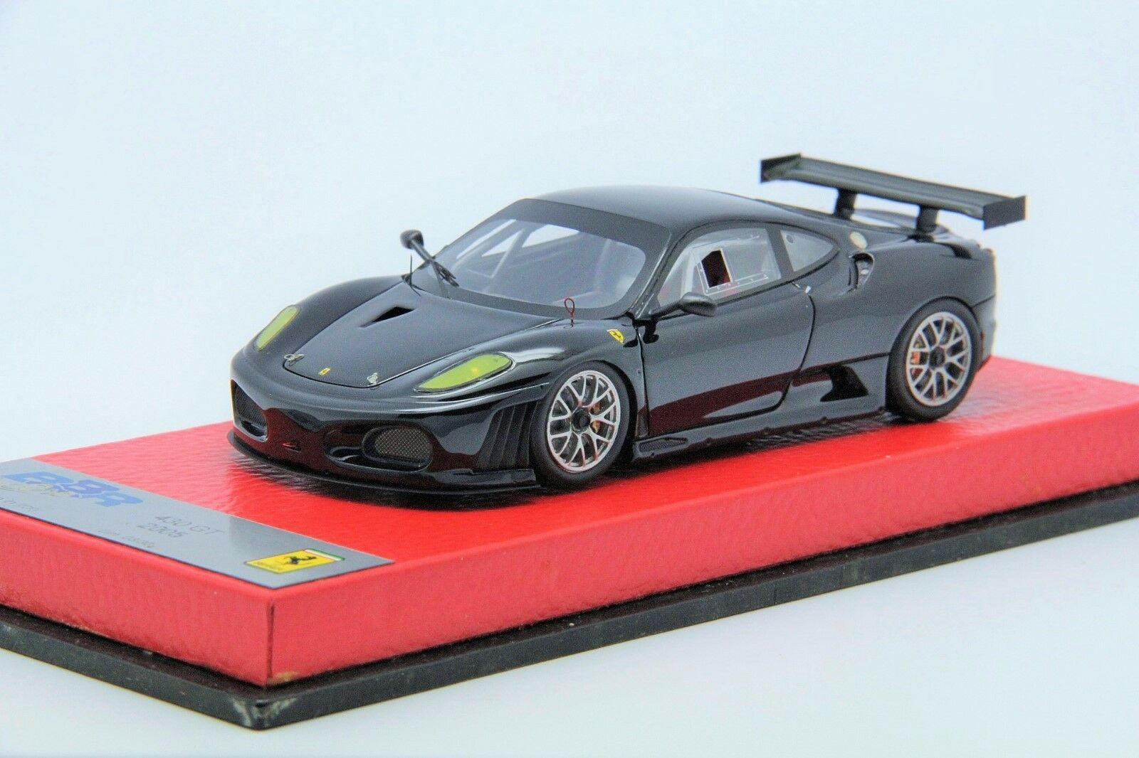 1 43 BBR Ferrari F430 GT 2005 Black Free Shipping  MR Looksmart Frontiart