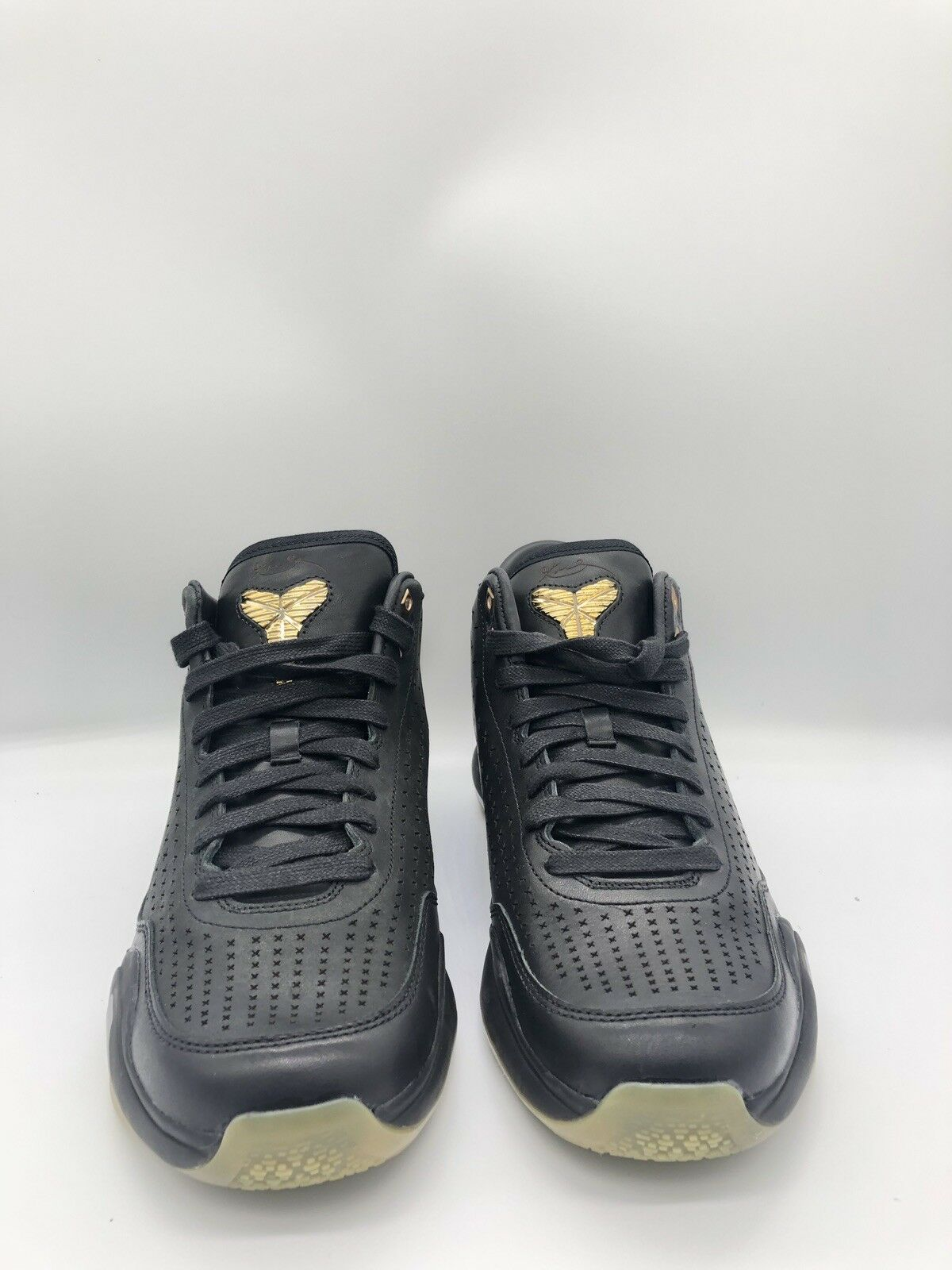Nike Kobe X MID EXT Men's shoes Size 10.5 Black Metallic gold Gum 802366-002