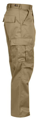 Khaki Bdu Pantaloni Rothco Vestibilità Tactical Comoda Stile Lavoro Militari fHnqZT