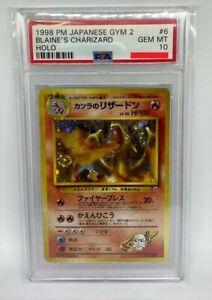 Pokemon-Blaine-039-s-Charizard-Japanese-gym-2-challenge-PSA-10-gem-mint