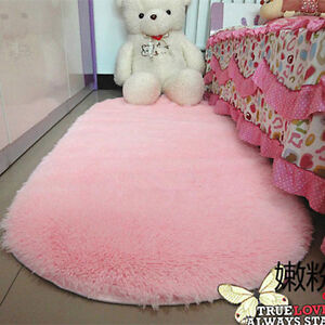 Lovely-Fluffy-Rugs-Anti-Skid-Shaggy-Area-Rug-Home-Room-Bedroom-Carpet-Floor-Mat
