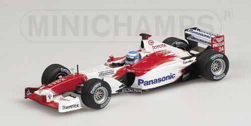 Toyota TF102 M.Salo  2002 2002 2002 400050024  1 43 Minichamps 891c76