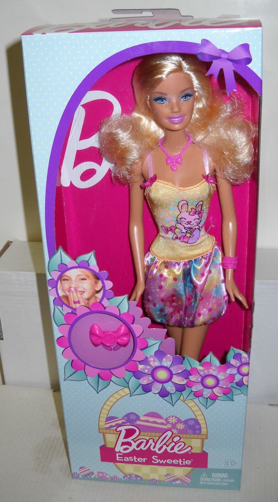 NRFB Mattel Easter Series 2013 Easter Sweetie Barbie Doll Special Edition