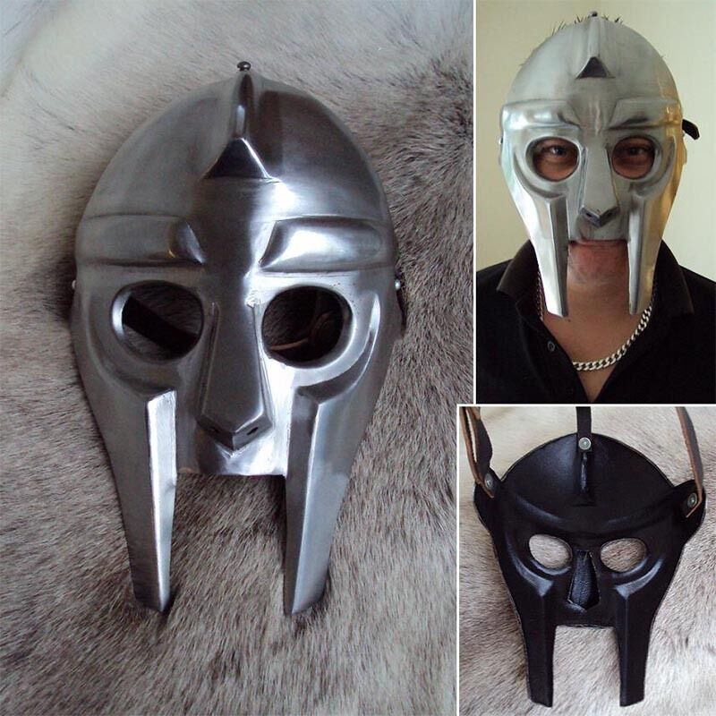 The Death Skull Mask - LARP, Re-Enactment Or Costume Use   SALE PRICE