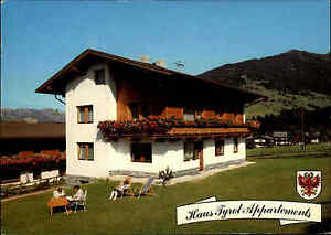 WEERBERG-Osterreich-Tirol-Haus-Tyrol-Appartements-Gaestehaus-color-Postkarte