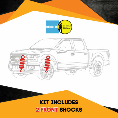 """Bilstein B8 5100 6/"""" lift Front Shocks for 4WD Dodge 94-`02 Ram 2500 Kit 2"""