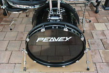 "PEAVEY RADIALPRO RADIAL PRO 501 22"" BLACK BASS DRUM for YOUR DRUM SET! LOT #T690"