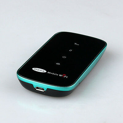 Cute 7.2Mbs Wireless 3G Wifi Router Modem Mifi Mobile Hotspot with SIM Card Slot