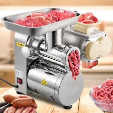 Vevor Electric 3 In 1 Meat Grinder 1100w 360lbsh Meat Slicer Sausage Stuffer