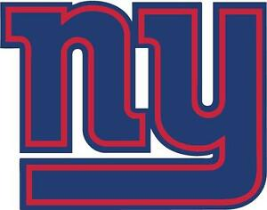 Details About Ny Giants New York Nfl Football Team Logo 2 Color Decal Car Window Sticker