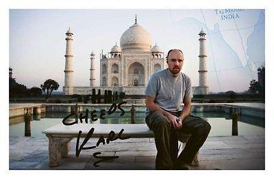 Karl Pilkington Autographed Signed A4 21cm x 29.7cm Poster Photo