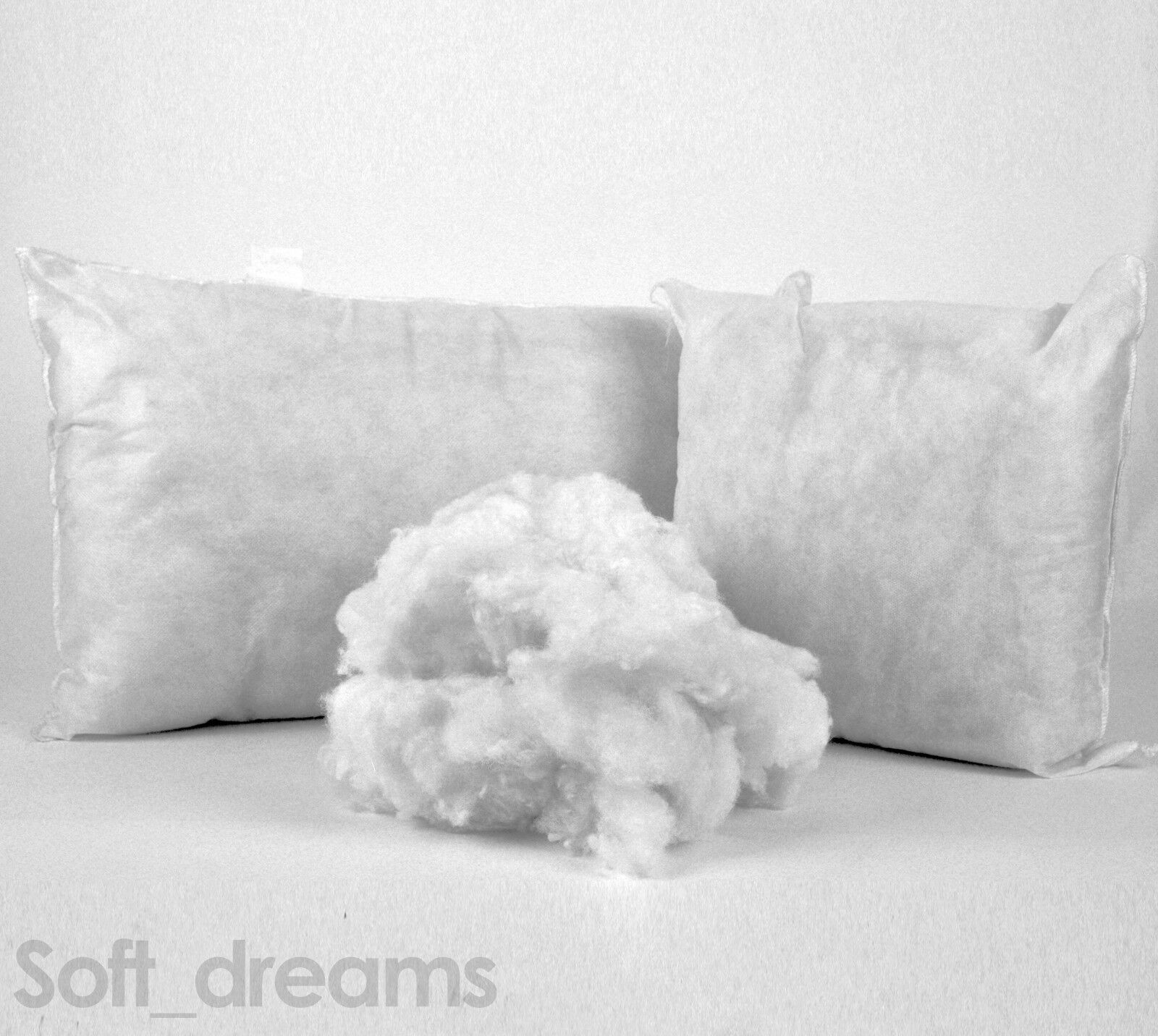100% Hollowfibre Filling - toys & cushions -  250g, 500g, 1kg